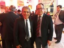 Ministro Carlos Ayres Britto e Alberto Amaral Alfaro.